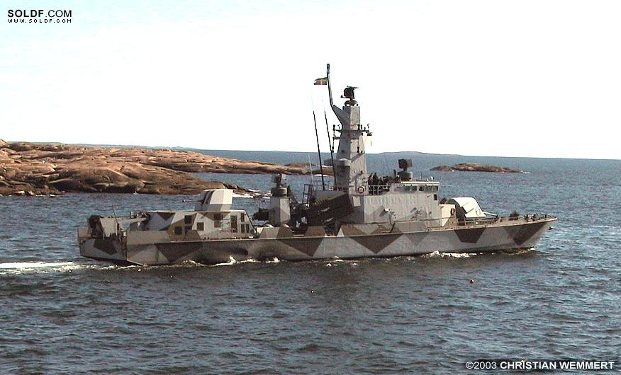 svenska korvetter