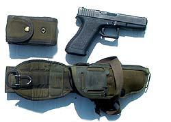Isärtagen Glock 17