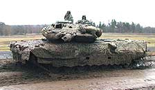 Strv 122 Tornet kl 10 under frr.