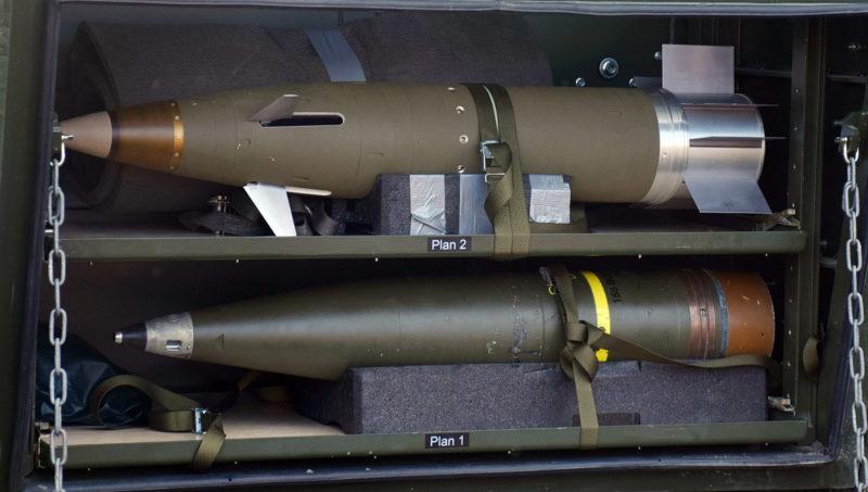 155 mm Granater - Excalibur och Bonus