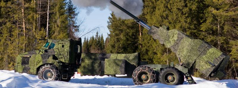 Artillerisystem 08 - FH-77 BW/155 mm Haub. Archer, Boden Foto: ©2009 Kim Svensson