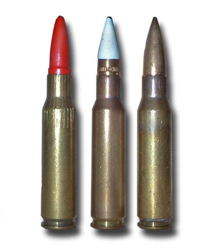7,62 mm Lös ptr 10 7,62 mm Sk ptr 10 slprj 7,62 mm Sk ptr 10 prj
