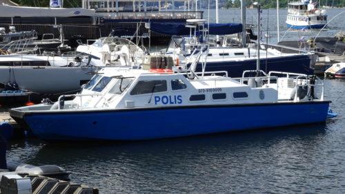 Stridsbåt 90E Polis Foto: ©2016 Henrik Svensk
