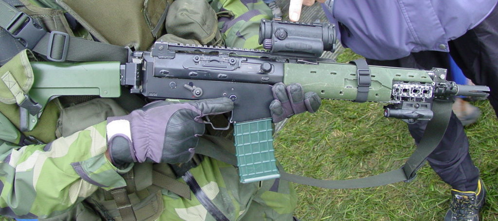 Prototypversion av Ak 5C