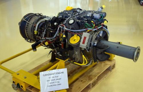 Motor GE700-701D