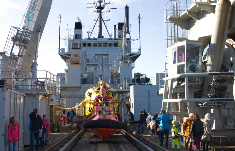 HMS Belos Däck Foto: ©2019 Per Handspik