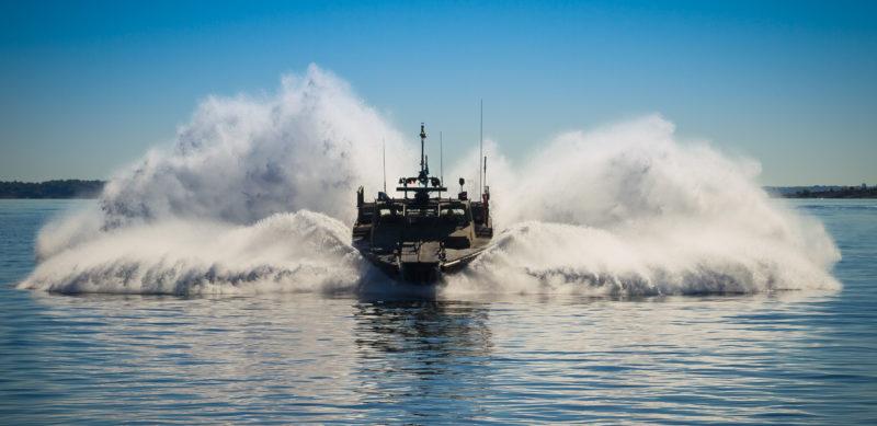 Stridsbåt 90 Crash Stop Foto: © Kim Svensson