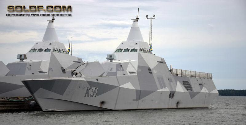 K31 HMS Visby Foto:©2017 Henrik Svensk
