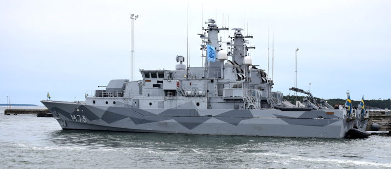 HMS Koster M73 Foto: ©2017 Henrik Svensk