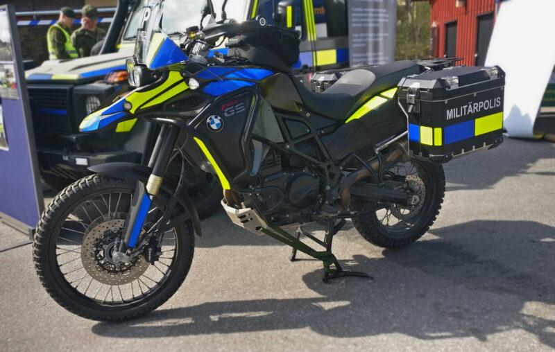 MC810 Militärpolis Foto: ©2019 Henrik Svensk