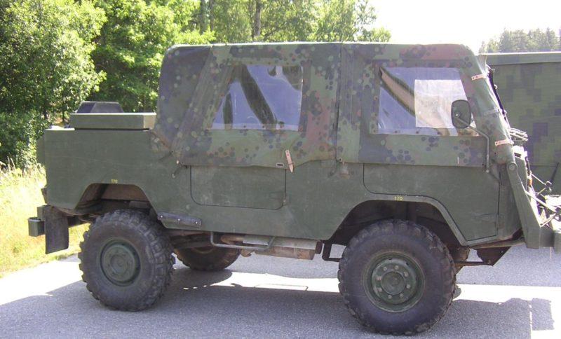 Pansarvärnspjästerrängbil 1111 - PvPjTgb 1111