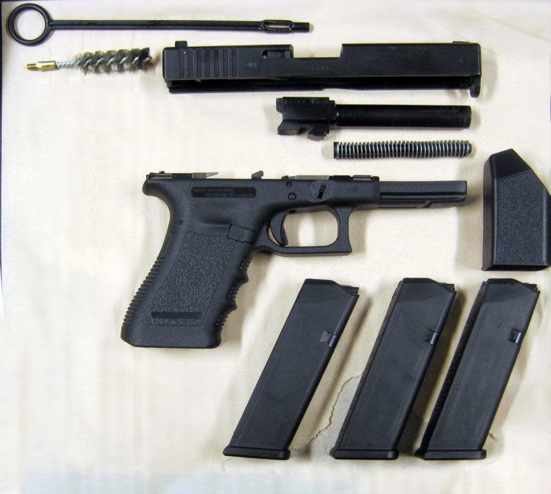 Pistol 88C2 - Glock 17 Gen 3
