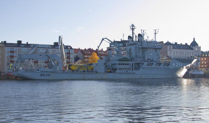 A214 HMS Belos Foto: © Pellehan 2019 -Shipspotting.com