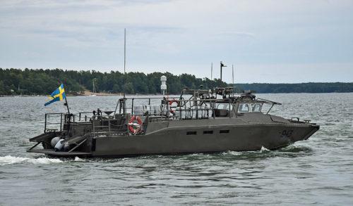 Stridsbåt 90HS Foto:©2017 Henrik Svensk