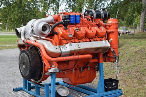 Stridsbåt 90 Motor Scania DSI14 Foto:©2017 Henrik Svensk
