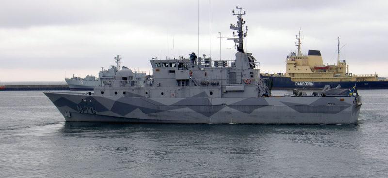HMS Ven M76 före modifiering Foto: ©2005 Fredrik Runander