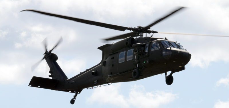 Helikopter 16 - UH60M Black Hawk