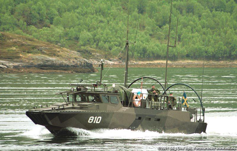 Stridsbåt 90L på övning i Norge Foto: ©2001 Stig Ove Voll, Forsvarsnett
