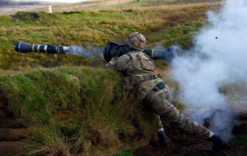 Royal Marines firing NLAW Foto: CC-BY-NC 2.0 Pepe Hogan, Crown Copyright